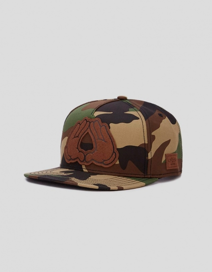 C&S WL Dynasty Lux Cap woodland/black one