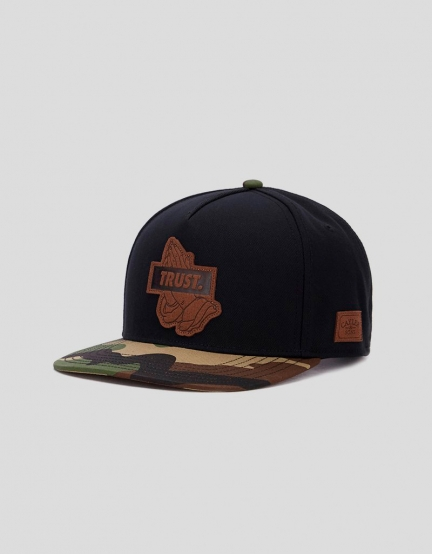 C&S WL Trust Lux Cap black/woodland one