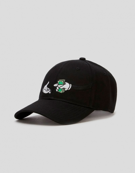 C&S WL God Given Curved Cap black/white one