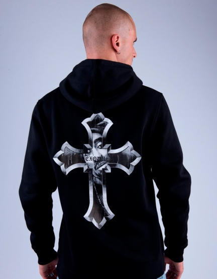 C&S WL EXDS Hoody black/white XS