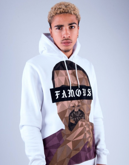 C&S WL Drop Out Hoody white/mc L