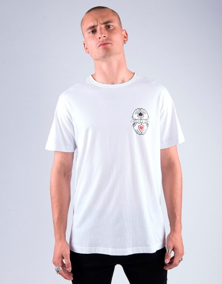 C&S WL All In Tee white/mc M