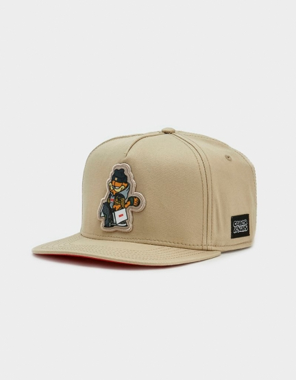 C&S WL Hyped Garfield Cap sand/pale pink one