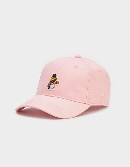 C&S WL Hyped Garfield Curved Cap pale pink/mc one