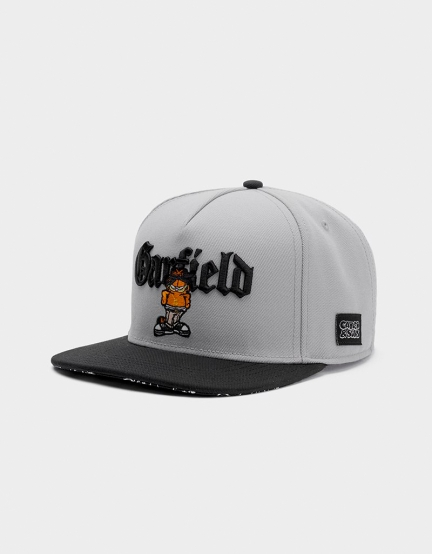 C&S WL Left Side Garfield Cap grey/black one