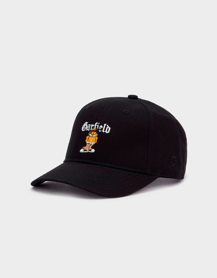 C&S WL Left Side Garfield Curved Cap black/mc one