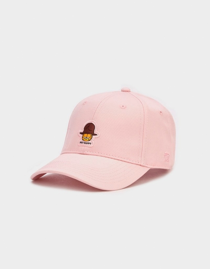 C&S WL Not Happy Garfield Curved Cap pale pink/mc one