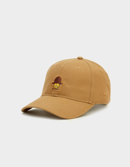 C&S WL Not Happy Garfield Curved Cap sand/mc one