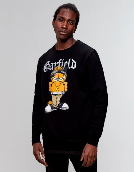 C&S WL Left Side Garfield Crewneck