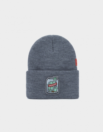 C&S WL Savings Beanie heather grey/mc one size