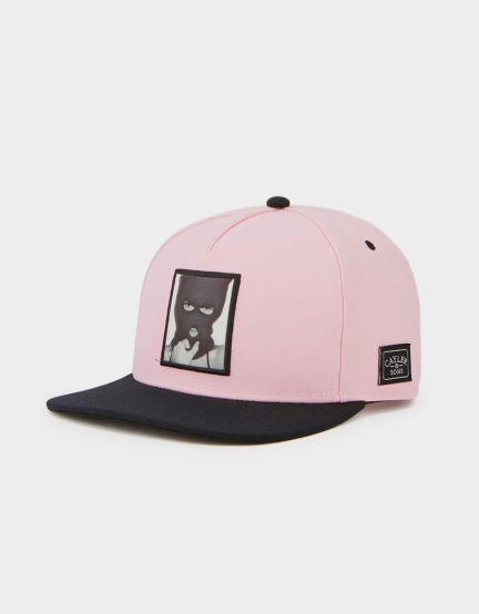 C&S WL In The Air Cap pale pink/black one size