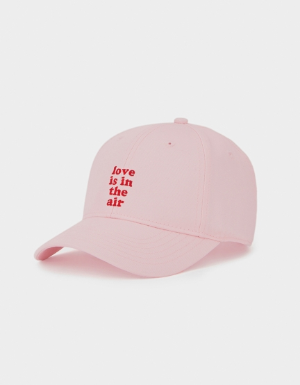 C&S WL In The Air Curved Cap pale pink/red one size