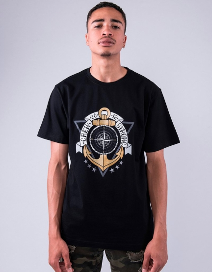 C&S WL Crew Strong Tee black/mc S