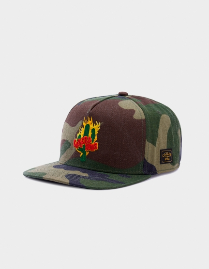 C&S WL Turn Up Cap woodland/mc one