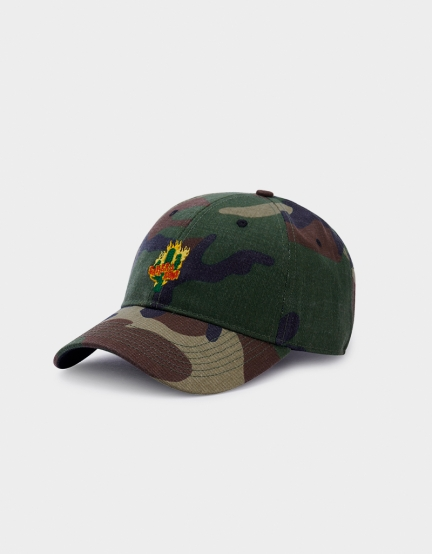 C&S WL Turn Up Curved Cap woodland/mc one