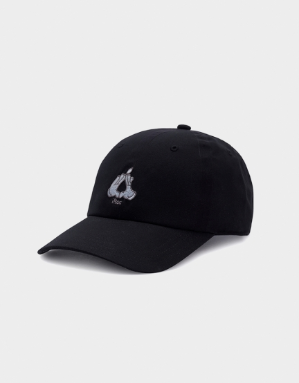 C&S WL Cookin` Curved Cap black/silver one