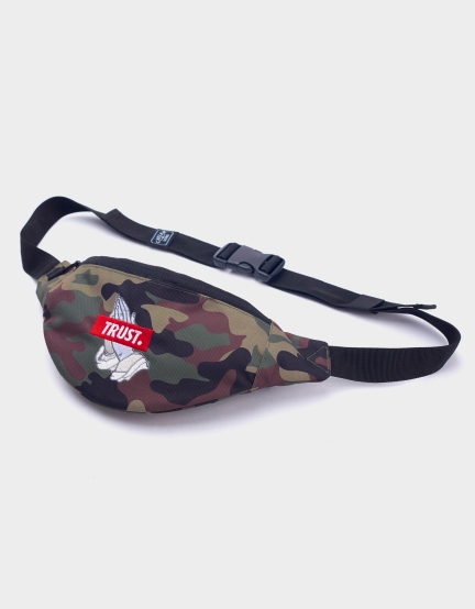 C&S WL Trust Waist Bag woodland/mc one
