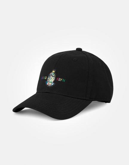 C&S WL Crowned Curved Cap black/mc one