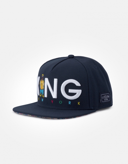 C&S WL Le Roi Cap navy/mc one