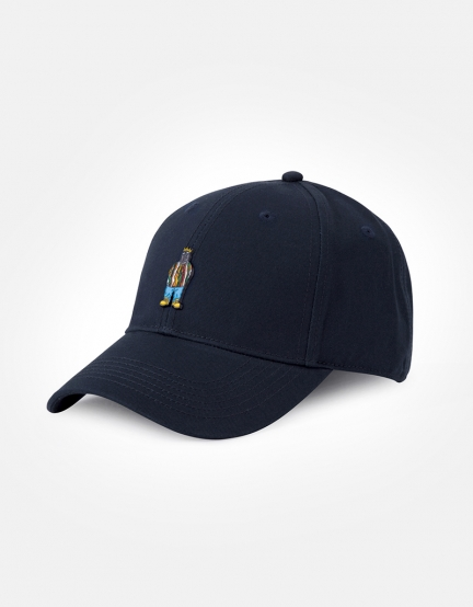 C&S WL Le Roi Curved Cap navy/mc one