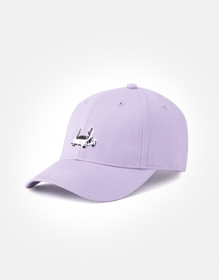 C&S WL Vibes Curved Cap lilac/mc one
