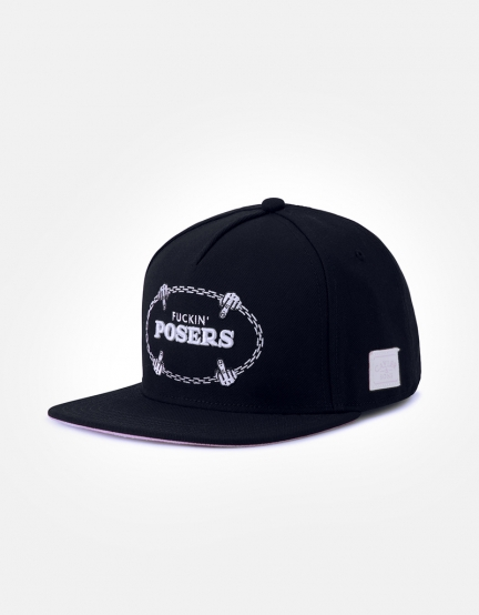 C&S WL Posers Cap black/white one