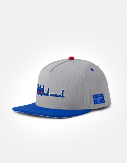 C&S WL Westcoast Cap grey/royal one