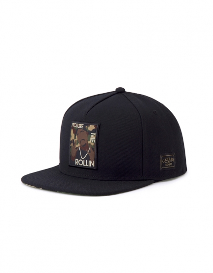 C&S WL 2PAC Rollin Cap black/woodland one