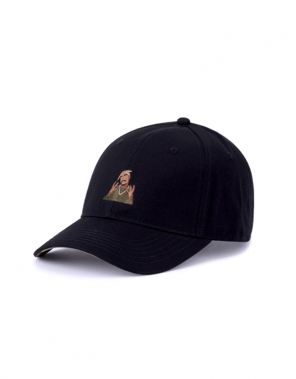 C&S WL 2PAC Rollin Curved Cap black/woodland one