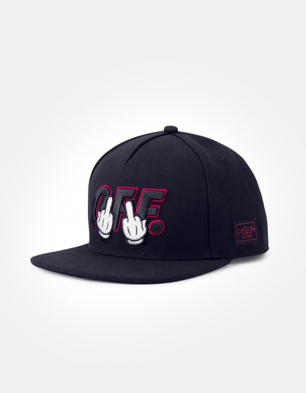 C&S WL Seriously Cap black/red one