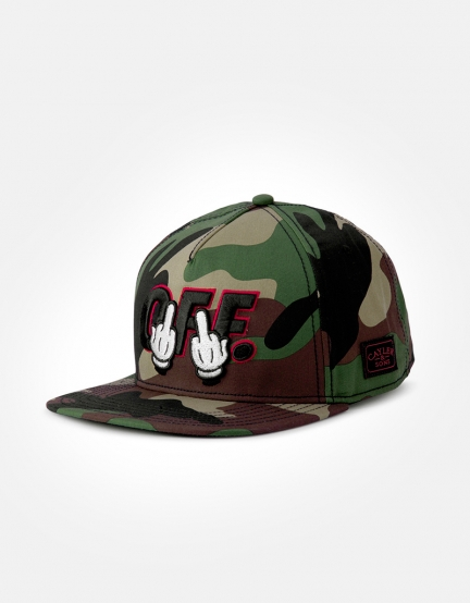 C&S WL Seriously Cap woodland/black one