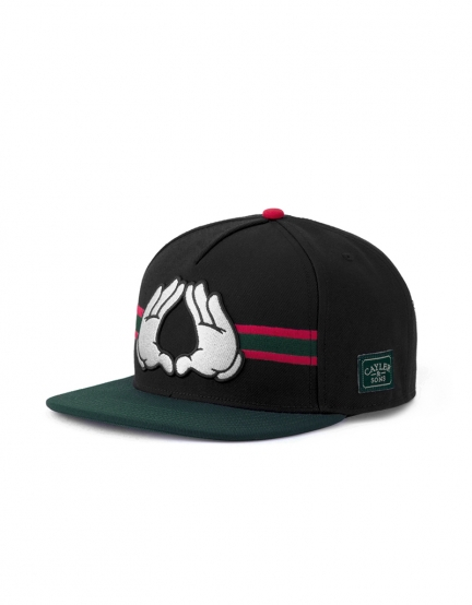 C&S WL Dynasty Cap black/green one