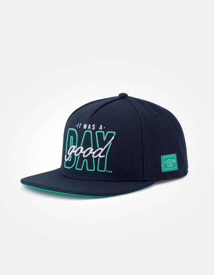 C&S WL Good Day Cap navy/mint one