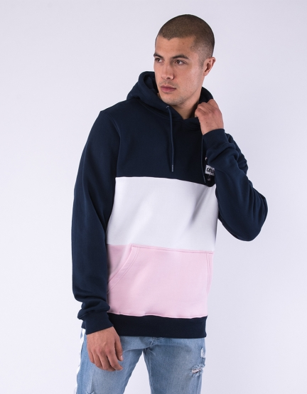 C&S WL Camingo Blocked Hoody navy/mc XS