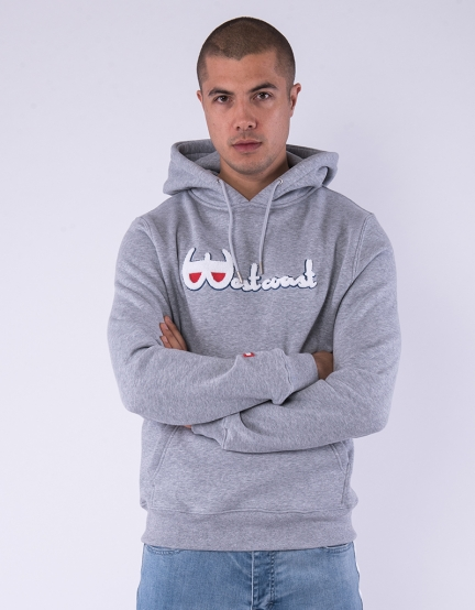 C&S WL Westcoast Hoody heather grey/mc L