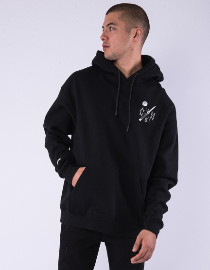 C&S WL Enemies Box Hoody black/white XS