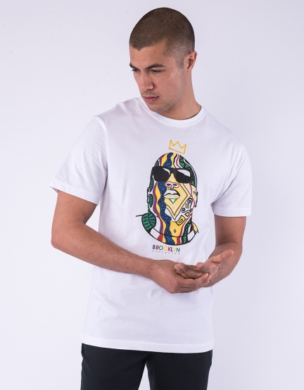 C&S WL Crowned Tee white/mc M