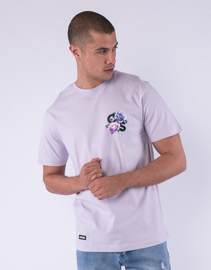 C&S WL Stand Strong Tee pale lilac/mc S
