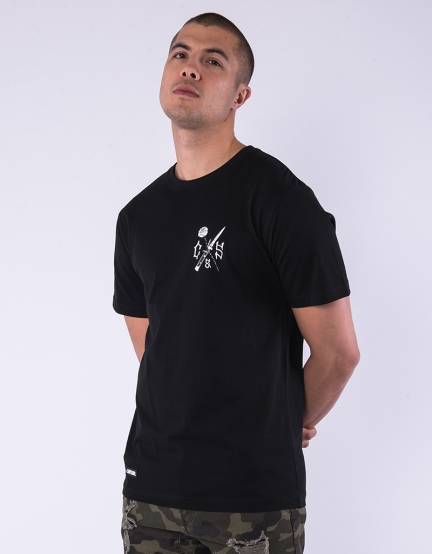 C&S WL Enemies Tee black/white S