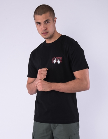 C&S WL Seriously Tee black/mc L