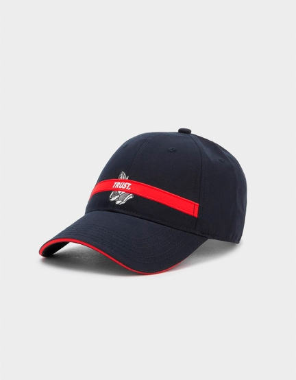 C&S WL Trust Curved Cap navy/red one