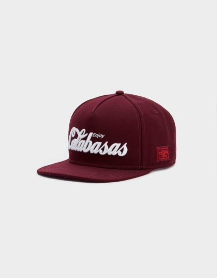 C&S WL Calabasas Cap bordeaux/white one