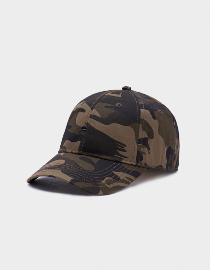 C&S Logo Curved Caps woodland one