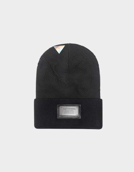 C&S BL Plated Old School Beanie black/olive one
