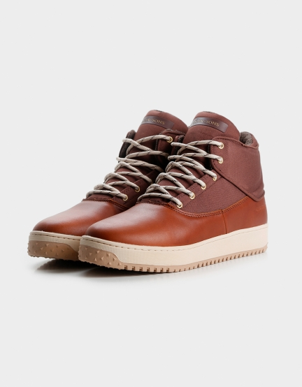 C&S SHUTDOWN dark cognac/cream 11