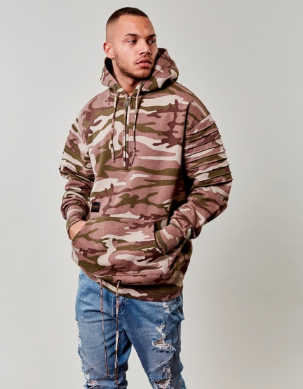 CSBL Pleated Loose Fit Hoody mc XXL