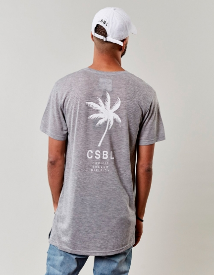 CSBL Wavey Long Tee grey XL
