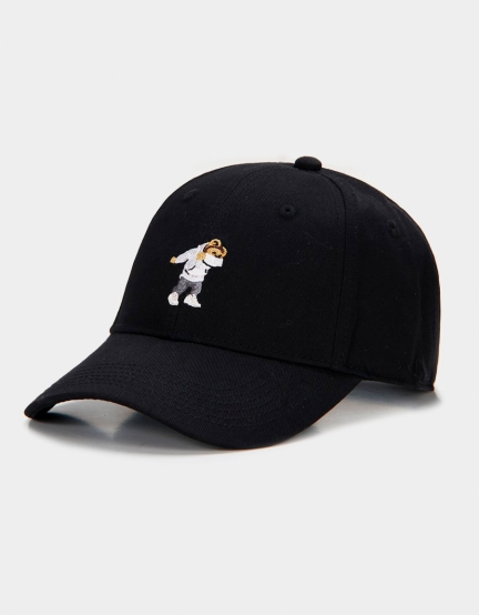 C&S Dabbin Crew Curved Cap black/mc one