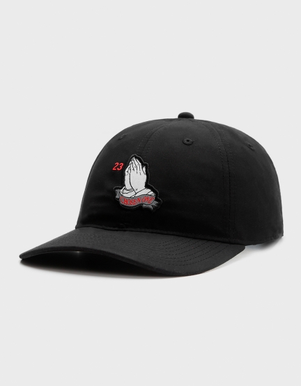 C&S WL Chosen One Curved Cap black/white one