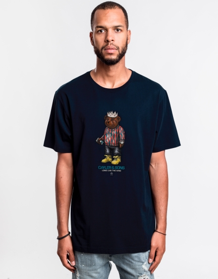 C&S WL Biggie Tee navy/mc XL